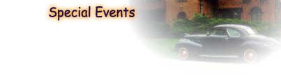 Bed and Breakfast Special Events